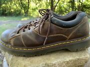 Dr. Martens Womens Mellows Brown Greenland Oxfords Size 11