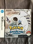 Pokemon Soul Silver Nintendo Ds Complete W/ All Pieces Including Box Pokewalker