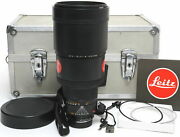 Leica R Apo-telyt-r 2.8 / 280mm 3-cam Lens With Case And Caps