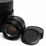 Leica M 2 / 50mm Summicron Black With Built-in Hood