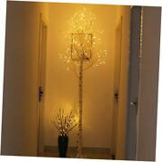 8ft Artificial Tree Lighted Birch Tree For Indoor Use Great 8ft159l Warm White