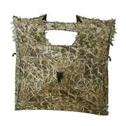 Pop Up Ground Blind For Deer Duck Turkey Hunting Portable Quick Setup Dry Reed