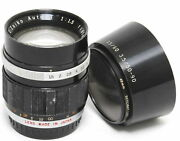 Olympus Pen 1.5 / 60mm G. Zuiko Auto-t Front Glass With Scratches