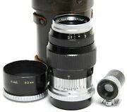 Kyoei Optical Acall 3.5 / 80mm Leica L39 Mount Rare