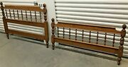 Ethan Allen Heirloom Bed Full Size Maple 10-5653 Must See