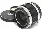 Olympus Auto-w 3.5 / 20mm Lens For Olympus Pen Clean Glass