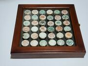 Antique 1800and039s Beer Cap Collection.36 Pieces.original 100