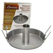 Beer Can Roaster - Stainless Steel Chicken Beeroaster Deluxe With Recipe Guide