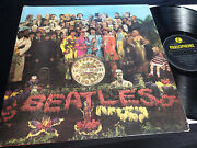 The Beatles Sgt Peppers Mono Rare 1967 Vinyl Wide Spine Plays Ex 1st Press Uk