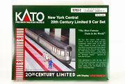Kato N-scale 10763-2 New York Central 20th Century Limited 9 Car Set Japan