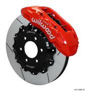 Wilwood Tx6r Front Kit 15.50in Rotor W/ Lines - Red - 17-19 Ford F150 Raptor