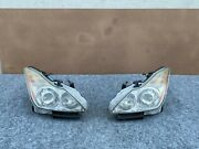 Infiniti G37 Q60 Coupe Convertible 2008-2010 Oem Left And Right Xenon Headlights