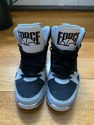 2012 Nike Air Force High Top Sneaker Size 10 Us 555087-011