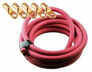 Ultra-flex Car Battery/welding Cable - 3/0 Gauge Red - 500 Feet - And 5 Lugs
