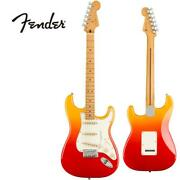 Fender Mexico Player Plus Stratocaster -tequila Sunrise / Maple- Electric Guitar