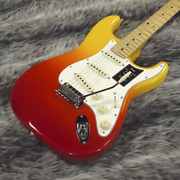Fender Mexico Player Plus Stratocaster Tequila Sunrise Electric Guitar