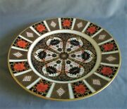12 Matching Royal Crown Derby Imari 10 1/2 Dinner Plates 1st Quality Mint