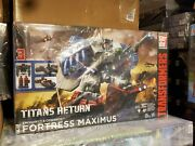 Transformers Generations Titans Return Fortress Maximus Brand New Factory Sealed