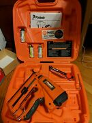 Paslode Cordless 16 Gauge Angled Finish Nailer 900600 With Battery, Charger, Gas