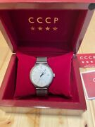 Cccp Menand039s Cp-7019-02 Heritage Analog Display Automatic Self Wind Watch
