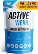 Active Wear Laundry Detergent - Formulated For Sweat And Workout Clothes - Natur