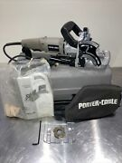 Porter Cable Model 557 Plate Joiner   W/case