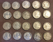 19391940 Lot Of 20 French Indo-china 10 Cents Magnetic Coins- Vietnam-km21.1