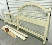 Ethan Allen Country French Wheatback Bed Queen 26-5630 647 Brittany Beautiful