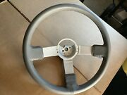 85-87 T-type Grand National Gnx Grey Leather Steering Wheel - New Leather
