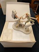 """Rare Find Retired Lenox Disney Peter Pan """"lets Have At It' Number 1896 / 1953"""