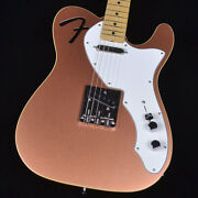 Fender Mij Limited F Hole Telecaster Thinline Penny Electric Guitar