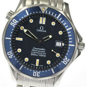 Omega Seamaster300 2531.80 Chronometer Navy Dial Automatic Men's Watch_640829
