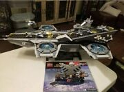 Lego 76042 Shield Helicarrier 100 Complete All Retired Marvel Superheroes