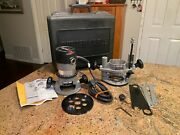 Porter Cable 694vk Router Combo Kit 690lrvs Motor 6931 Plunge And 1001-t2 Base