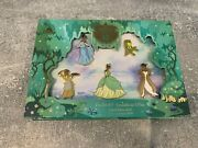 Disney Tiana Princess And The Frog Limited Edition Pin Set Release Of 1500