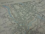 Ww1 1917 3rd Battle Of Ypres Related Infantry Trench Map Roulers
