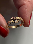 Antique Victorian Gold Ring Schnalle Ring Gold Antik Victorian