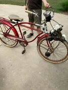 1960and039s Columbia Newsboy Motorized Balloon Tire Bicycle