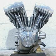 Harley Davidson Road King And Electra Glide And Dyna Silver Engine Motor - Tested