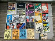 Lewis Leathers Aviakit Brochures Advertising Books Jackets Goods Catalogues Etc