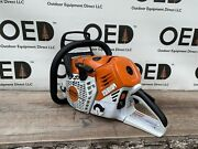 Stihl Ms500i Chainsaw Powerhead / Very Nice 79.2cc Fuel Injected Saw Fastship