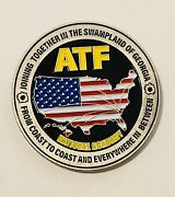 Sought After-unique-atf National Academy-atf Challenge Coin