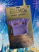2021 Disney Parks Nuimos 50th Anniversary Celebration Spirit Jersey Outfit New