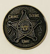 Sought After-unique- Warren County Ohio Sheriff -police Challenge Coin