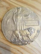 He Died For Freedom And Honor Plaque Medallion Wwi British Empire Dead Manand039s...