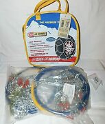 Les Schwab Quick Fit Diamond Pattern Tire Snow Chains, Stock 1530-s, Never Used