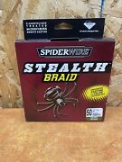 Spider Wire Stealth Braid 50 Lb 500 Yd Moss Green Fishing Line