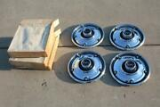 4 Vintage Nos Gmc Truck Wheel Covers Hubcaps Pickup 1967-1980 Jimmy Chevrolet
