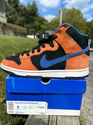 Nike Dunk High Knicks Size 9 Mens Used Clean Og Rare Low New York