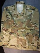 Usaf Air Force Army Multicam Scorpion Ocp Combat Jacket Large Current Issue 2021
